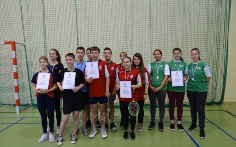 Mistrzostwa powiatu w badmintonie