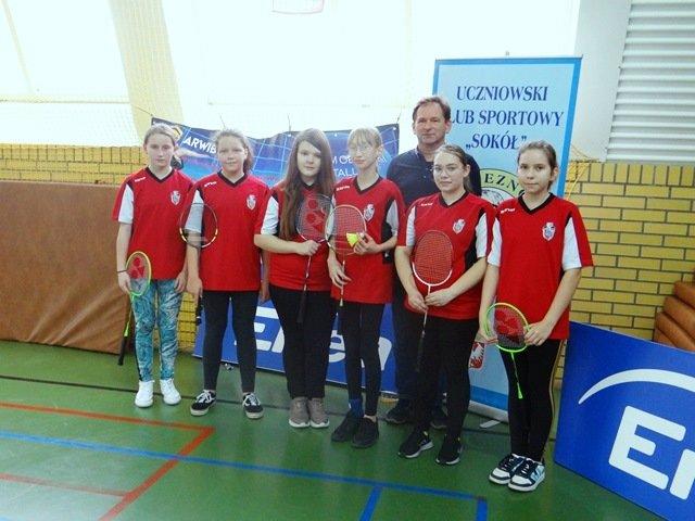 Mistrzostwa powiatu i rejonu w badmintonie